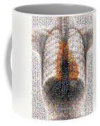 Mosaic Of Chest X-ray Coffee Mug