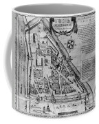 Moscow: Map, 17th Century Coffee Mug