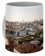 Moscow Russia On The Moskva River - Ca 1900 Coffee Mug