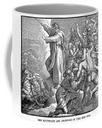 Moses And The Red Sea Coffee Mug