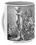 Moses And The Red Sea Coffee Mug
