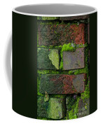 Mossy Brick Wall Coffee Mug