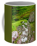 Mossy Rock Garden Coffee Mug