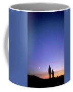 Mother And Child Stargazing, British Coffee Mug