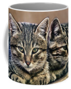 Mother And Child Wild Cats Coffee Mug