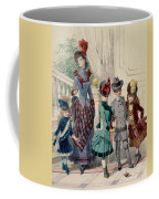 Mother And Children In Indoor Costume Coffee Mug