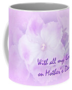 Mother's Day Greeting Card - African Violets Coffee Mug