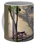 Motorcycle And Tree. Belgrade. Serbia Coffee Mug
