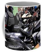 Motorcycles - Harleys And Hondas Coffee Mug