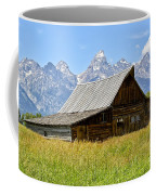 Moulton Barn On Mormon Row Coffee Mug