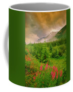 Mount Amery And Fireweed Coffee Mug