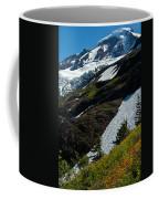 Mount Baker Floral Bouquet Coffee Mug