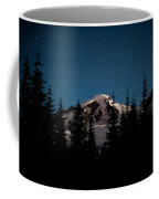 Mount Baker Starry Night Coffee Mug