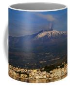 Mount Etna Coffee Mug