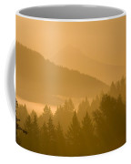 Mount Hood, Oregon, Usa Silhouetted Coffee Mug