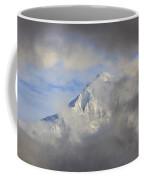 Mount Hood Through Storm Clouds Oregon Coffee Mug