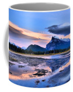 Mount Rundle In The Evening Coffee Mug