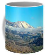 Mount St Helens And Castle Lake Coffee Mug