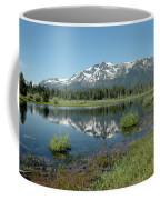 Mount Tallac Sky Projections Coffee Mug