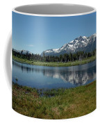 Mount Tallac View Of The Cross Coffee Mug