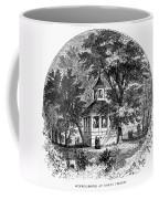 Mount Vernon, 1883 Coffee Mug
