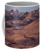 Mountain Bike Riders On Slickrock Trail Coffee Mug by Joel Sartore
