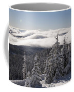 Mountain During Winter Coffee Mug