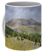 Mountain In St Moritz Coffee Mug