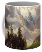 Mountain Landscape With The Grossglockner Coffee Mug