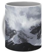Mountain Panoramic In Winter, Spray Coffee Mug