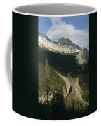Mountain Peaks Along The Icefields Coffee Mug