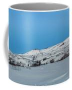 Mountain Range Along The Dempster Highway Coffee Mug