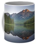 Mountain Reflection, Pyramid Mountain Coffee Mug