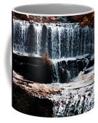 Mountain Stream Waterfall Coffee Mug