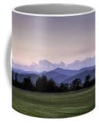 Mountain Sunset - North Carolina Landscape Coffee Mug