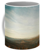 Mountains As Far As The Eye Can See Coffee Mug by Priska Wettstein