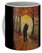 Mountainside Kiss Coffee Mug