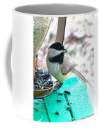 Mouth Full Chickadee Coffee Mug