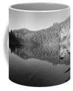 Mowich Lake Mono Print Coffee Mug