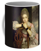 Mrs Abington As Miss Prue In Congreve's 'love For Love'  Coffee Mug by Sir Joshua Reynolds