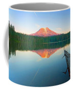 Mt. Adams Alpenglow Coffee Mug