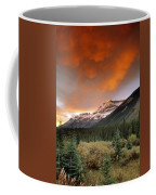 Mt. Amery And Dramatic Clouds, Banff Coffee Mug