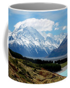 Mt Cook Across Lake Pukaki Coffee Mug