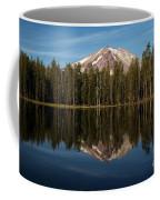 Mt Lassen In Summit Lake Coffee Mug