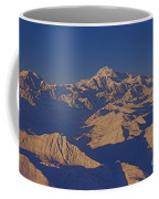 Mt. Mckinley Sunset From Above Coffee Mug