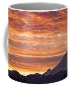 Mt Rainier December Sunrise Coffee Mug