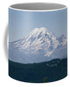 Mt. Rainier Seen From The Yakima Valley Coffee Mug