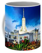 Mt Timpanogas Flowers Coffee Mug