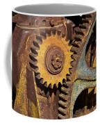 Mud Caked Gears Coffee Mug