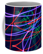 Multi-colored Glowing Light Streaks Coffee Mug